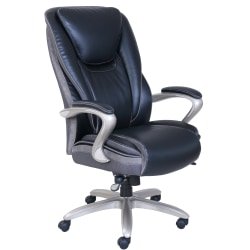 Serta Smart Layers Hensley Chair Black Office Depot