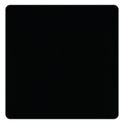 "Allsop® Naturesmart Large Mouse Pad, 13.3"" x 13.3"", Black"