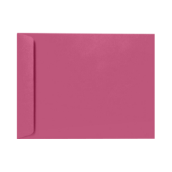 """LUX Open-End Envelopes With Peel & Press Closure, 9"""" x 12"""", Magenta, Pack Of 1,000"""