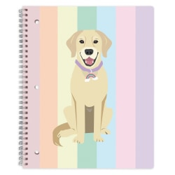 "Office Depot® Brand Fashion Notebook, 8-1/2"" x 10-1/2"", College Ruled, 160 Pages (80 Sheets), Riley"