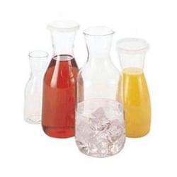 Cambro Camwear Camliter Beverage Decanter, 16.9 Oz, Clear
