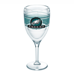 Tervis NFL Select Wine Glass, 9 Oz, Philadelphia Eagles