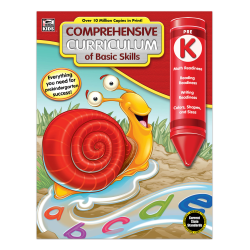 Thinking Kids® Comprehensive Curriculum Of Basic Skills, Grade Pre-K