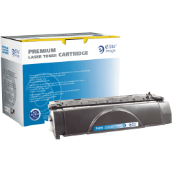 Elite Image™ Remanufactured Black Toner Cartridge Replacement For HP 49A