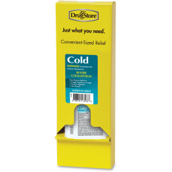 Lil' Drug Store LIL' Drug Store Refill Severe Cold Medicine - For Headache, Sore Throat, Cough, Chest Congestion, Nasal Congestion, Common Cold - 50 / Box