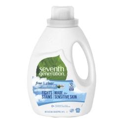 Seventh Generation® Natural Laundry Liquid Detergent, 50 Oz.
