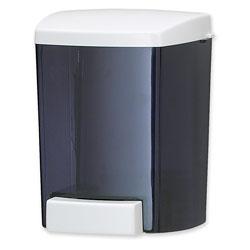 San Jamar® Classic Soap Dispenser, Black/Gray