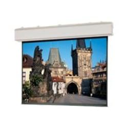 "Da-Lite Large Advantage Deluxe Electrol HDTV Format - Projection screen - motorized - 120 V - 216"" (216.1 in) - 1.78:1 - Matte White - white powder coat"