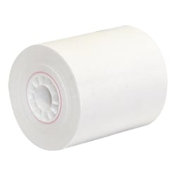 "Office Depot® 1-Ply Paper Roll, 2 1/4"" x 150"", White"