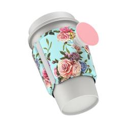 PopSocket PopThirst Cup Sleeve, Retro Wild Rose