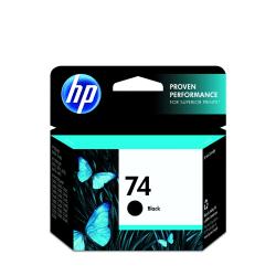 HP 74, Black Original Ink Cartridge (CB335WN)