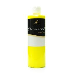Chroma Chromacryl Students' Acrylic Paint, 1 Pint, Cool Yellow, Pack Of 2