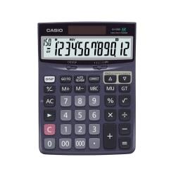 """Casio® Check & Correct Desk Calculator, 1.37"""" x 5.51"""" x 7.51"""", Black, DJ120D"""