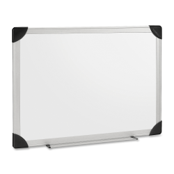 "Lorell® Dry-Erase Board, 18"" x 24"", Aluminum Frame"