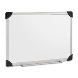 "Lorell® Dry-Erase Board, 48"" x 36"", Silver Aluminum Frame"