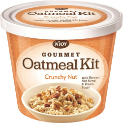 Sugarfoods Gourmet Crunchy Nut Oatmeal Kit, 2.29 Oz, Box of 8