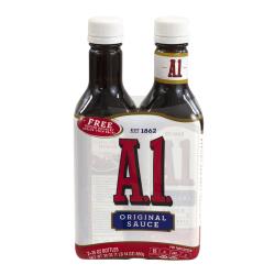A1 Original Steak Sauce, 15 Oz, Pack Of 2 Bottles