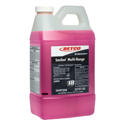 Symplicity Sanibet Multi-Range Sanitzer, 2 Liter, Case Of 4
