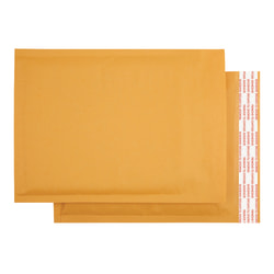 "Office Depot® Brand Kraft Bubble Mailers, 7 1/4"" x 7"", Pack Of 25"