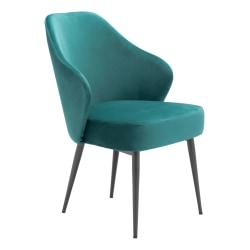 Zuo Modern Savon Dining Chair, Green/Black