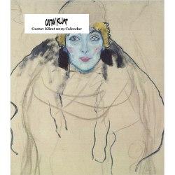 """Retrospect Monthly Desk Calendar, Gustav Klimt, 6-1/4"""" x 5-1/4"""", Multicolor, January to December 2019"""