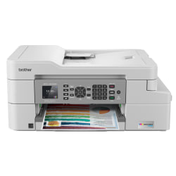 Brother® INKvestment Tank MFC-J805DWXL Wireless InkJet All-In-One Color Printer