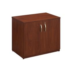"Bush Business Furniture Components Elite Storage Cabinet, 36""W, Hansen Cherry, Standard Delivery"