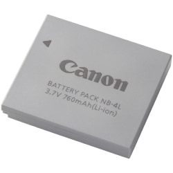 Canon NB-4L Rechargeable Camera Battery - Lithium Ion (Li-Ion) - 3.7V DC