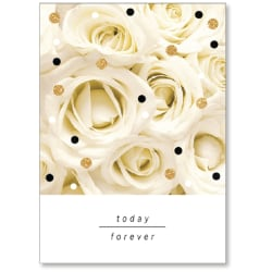 """Viabella Wedding Greeting Card With Envelope, Today Forever, 5"""" x 7"""""""
