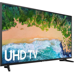 "Samsung 6900 UN43NU6900F 42.5"" Smart LED-LCD TV - 4K UHDTV - Charcoal Black, Dark Gray - LED Backlight - Dolby Digital Plus"