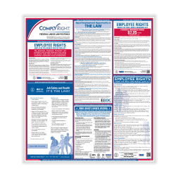 """ComplyRight™ English Federal Labor Law Poster, 32 3/4"""" x 24"""""""