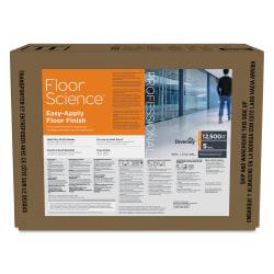 Diversey™ Floor Science Easy-Apply Floor Finish, Ammonia Scent, 640 Oz
