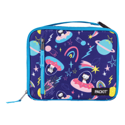 """PackIt® Freezable Classic Lunch Box, 2-3/4""""H x 10-1/4""""W x 8-1/2""""D, Sweet Space"""