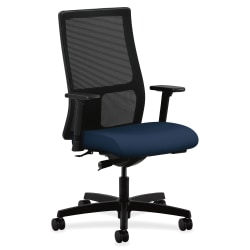 HON® Ignition® Mesh Mid-Back Task Chair, Centurion Navy