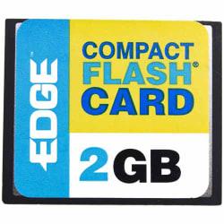 EDGE Tech 2GB Digital Media CompactFlash Card - 2 GB