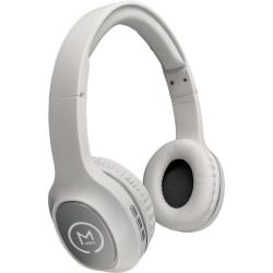 Morpheus 360 HP-4500 Wireless Headphone - Stereo - Wired/Wireless - Bluetooth - 32 Ohm - 22 Hz - 20 kHz - Over-the-head - Binaural - Circumaural - White