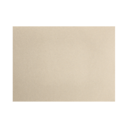 """LUX Flat Cards, A7, 5 1/8"""" x 7"""", Silversand, Pack Of 50"""