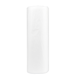 """Inteplast LLDPE Can Liners, 1.8 mil, 40"""" x 48"""", Natural, Pack Of 125 Liners"""