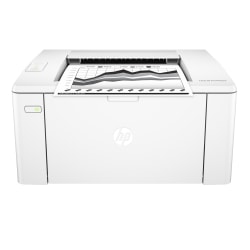 HP LaserJet Pro M102w Wireless Monochrome Laser Printer With Mobile Printing (G3Q35A)