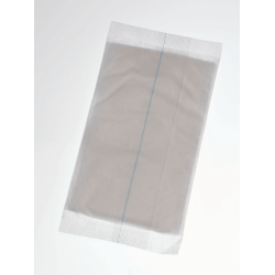 "Medline Non-Sterile Abdominal Pads, 5"" x 9"", Gray, Case Of 576"