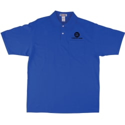 Jerzee® Embroidered 50/50 Polo Shirt