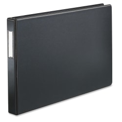 """Cardinal® EasyOpen® Tabloid Reference Binder, 11"""" x 17"""", 1"""" Rings, 65% Recycled, Black"""