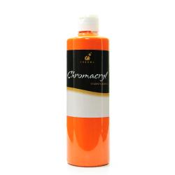 Chroma Chromacryl Students' Acrylic Paint, 1 Pint, Orange Vermilion, Pack Of 2