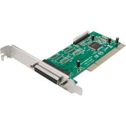 SYBA Multimedia 2 DB-25 Parallel Printer Ports (LPT1) PCI Controller Card, Netmos 9865 Chipset - Plug-in Card - PCI - PC