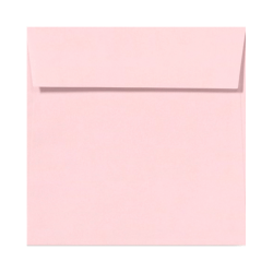 """LUX Square Envelopes With Peel & Press Closure, 5 1/2"""" x 5 1/2"""", Candy Pink, Pack Of 1,000"""
