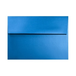 """LUX Invitation Envelopes With Moisture Closure, A1, 3 5/8"""" x 5 1/8"""", Boutique Blue, Pack Of 250"""