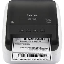 Brother® Monochrome Direct Thermal Desktop Printer, QL-1100