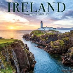 "Willow Creek Press Scenic Monthly Wall Calendar, 12"" x 12"", FSC® Certified, Ireland, January to December 2021, 12222"