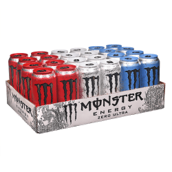 Monster Energy Ultra Variety Pack, 16 Oz, Pack Of 24 Cans