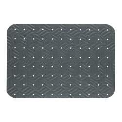 """M + A Matting Wet Step Antifatigue Floor Mat, 24"""" x 36"""", Gray"""
